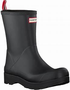 Black Hunter Rain Boots Mens Original Play Boot Mid Bl Omoda
