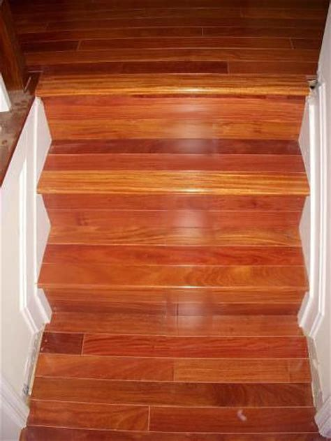 hardwood floor stairs stairs treads and risers hardwood floor accessories by brazilian direct brazilian cherry