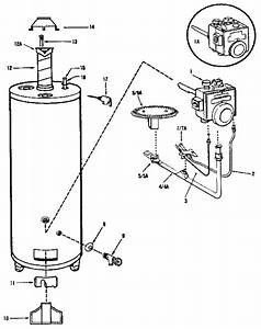 28 Gas Water Heater Parts Diagram