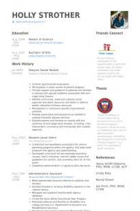 social work resume sles visualcv 28 images city