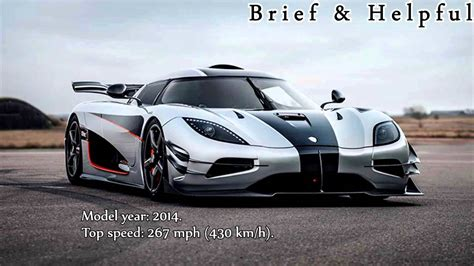 top ten fastest cars in the world 2017 youtube