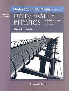 9780805387773  University Physics With Modern Physics  Student Solutions Manual  Volume 1  11th