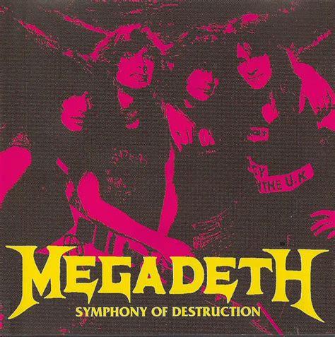 megadeth symphony  destruction   usa cd