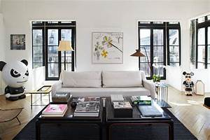 Peinture Encadrement Fenetre Interieur : peignez vos portes et fen tres en noir ~ Premium-room.com Idées de Décoration