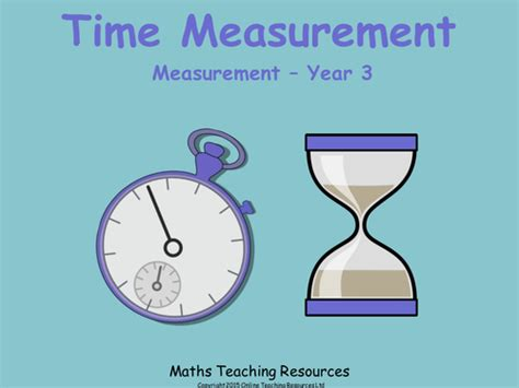 time measurement year 3 animated powerpoint