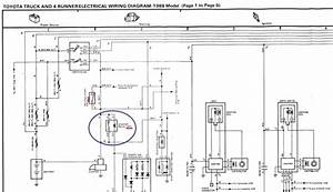 1994 Toyotum Pickup 4x4 Engine Wiring Diagram