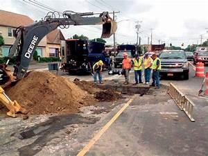 Water District Repairs Major Water Main Break | Massapequa ...