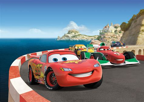 Car Wallpapers Cars Disney by Disney Photo Wallpaper Mural Cars Mcqueen 255x180cm