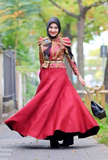 45+ Model Baju Muslim Gamis Rompi Blazer Terbaru 2019