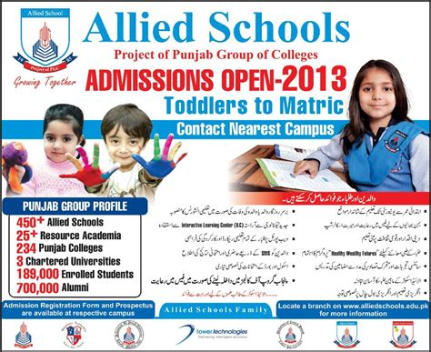 allied school offers admission 2013 935 | Allied school admission 2013