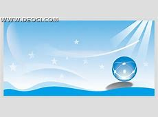 Crystal glass ball vector design poster background CDR