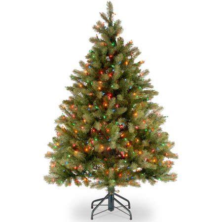 national tree pre lit   feel real downswept douglas