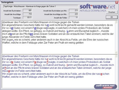 Zahlen lernen zählen übungsblätter ausdrucken. 10 Finger Test 5.5 - Download (Windows / Deutsch) bei SOFT ...