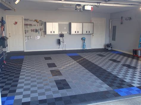 Racedeck Garage Flooring Tiles by Racedeck Garage Flooring Freeflow Open Rib Style