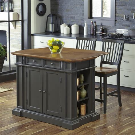 americana kitchen island americana kitchen island with 2 stools homestyles