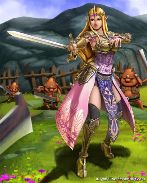 Zelda Twilight Princess Wallpaper Hyrule Warriors Queen Zelda By Iurypadilha On Deviantart
