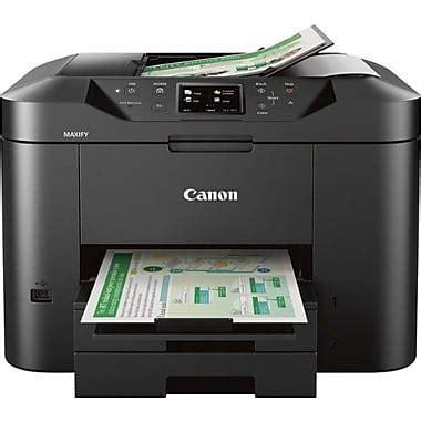 bureau imprimante canon imprimante à jet d 39 encre tout en un maxify mb2720