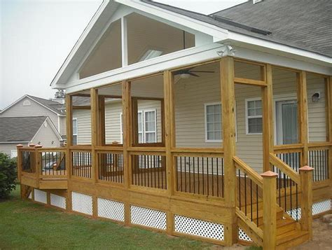 Plans To Build A Gable Roof Over A Deck