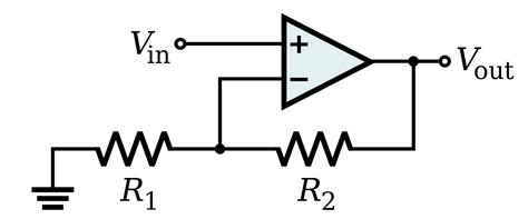 File Amp Non Inverting Amplifier Svg Wikimedia Commons