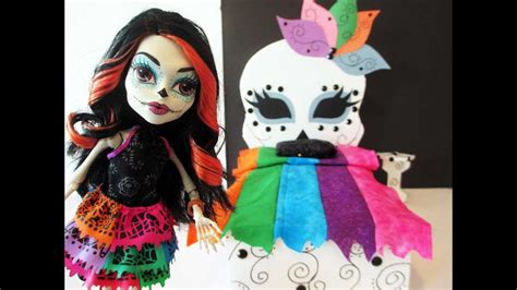 How To Make A Skelita Calaveras Doll Bed Tutorial/ Monster