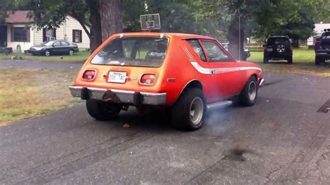 One bad ass gremlin burnout hotrod!!! - YouTube