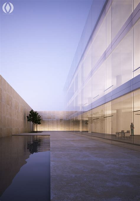 Hugo Sunset Plaza by Glass Water Plaza On Behance