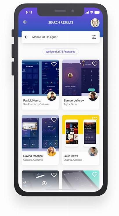 Virtual Assistant Mobile Ui Ux Behance