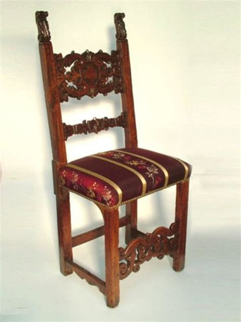 two pair of antique dining chairs for sale