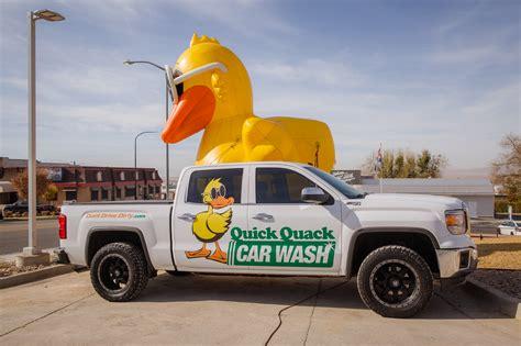 Quick Quack Car Wash Ribbon Cutting & Grand Opening