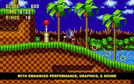 sonic  hedgehog  apk mod android