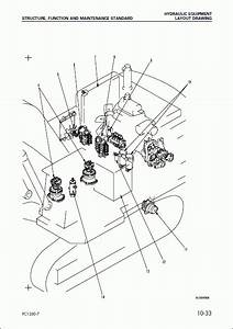 Komatsu Hydraulic Excavator Pc1250