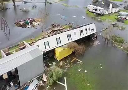 Hurricane Damage Laura Louisiana Reveals Footage