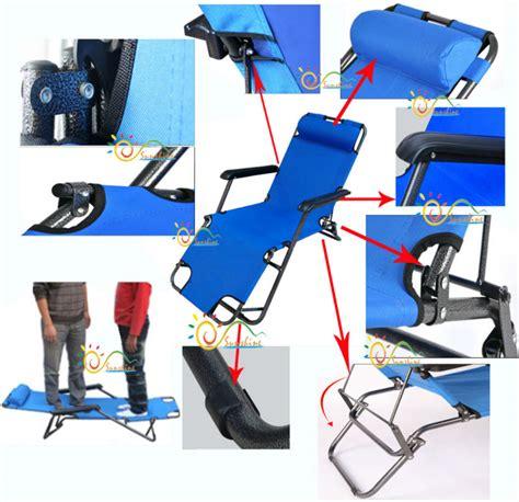 strong garden folding lightweight recliner zero gravity