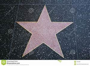 Walk Of Fame Blank Star Royalty Free Stock Photos - Image ...