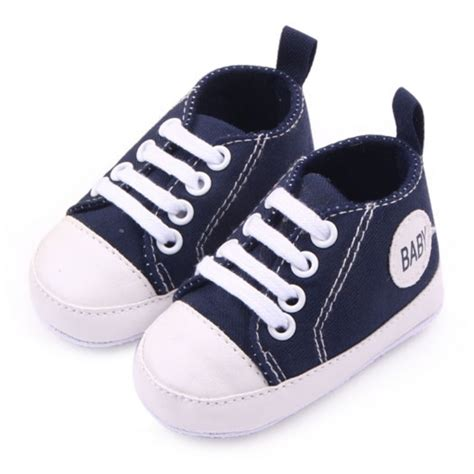 baby crib shoes infant 0 12months toddler canvas sneakers baby boy