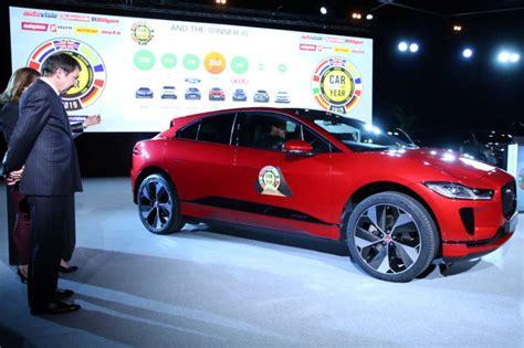 Jaguar I-pace Car Of The Year Geneva Motor Show 2019