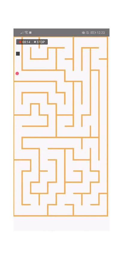 Maze Accelerometer React Creating Native Powered