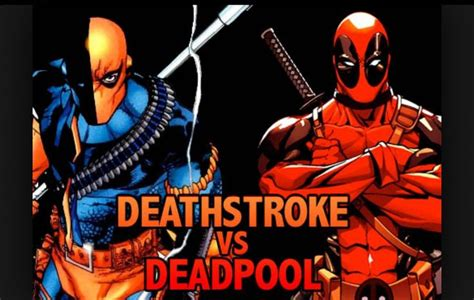 Deadpool And Abit Of Deathstroke