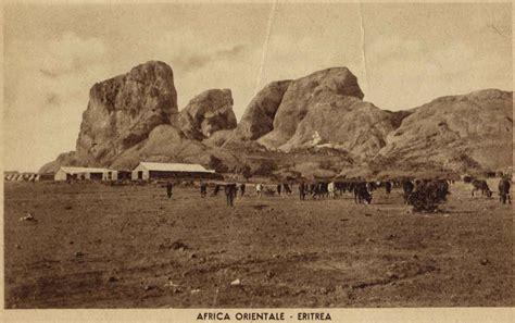 Military encampment in Senafè, Eritrea - Senafe in 2001 ...