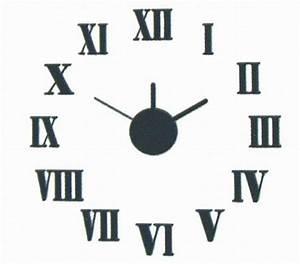 Römische Zahlen Uhr : wanduhr do it yourself r mische zahlen wallclock zum selbergestalten neu ebay ~ Orissabook.com Haus und Dekorationen