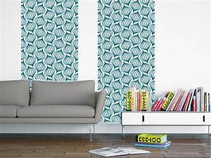 Papier Peint Bleu Canard : lanternes bleu canard papier peint adh sif motifs ~ Farleysfitness.com Idées de Décoration