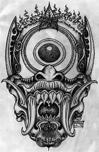 Demon Japonais Dessin : pin by aaron edmundson on tattoos pinterest japanese demon tattoo demon tattoo and tattoos ~ Maxctalentgroup.com Avis de Voitures
