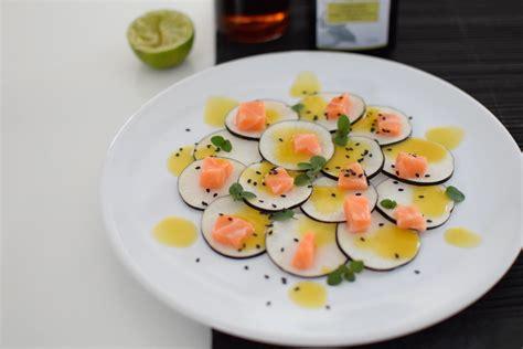 cuisine radis noir le carpaccio radis noir et dos de saumon lovalinda