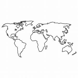 World Map - World Map Temporary Tattoo | Momentary Ink