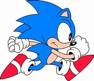 Classic Sonic The Hedgehog Running   Provincial Archives ...