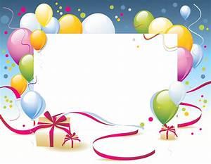 Birthday Transparent PNG Photo Frame | Рамки, стрелки ...