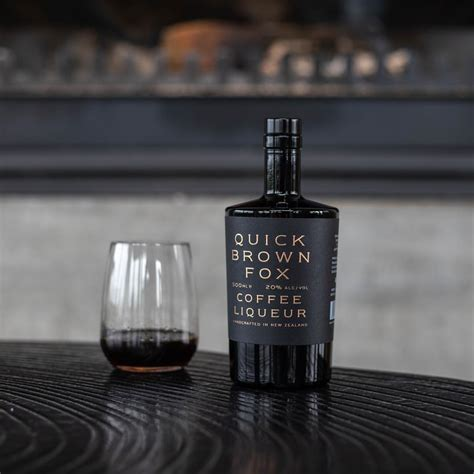Quick brown fox is an independently owned specialty coffee roaster based in new delhi. Quick Brown Fox Coffee Liqueur se lanza en el Reino Unido