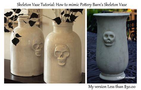 Pottery Barn Skeleton by How To Make A Pottery Barn Skeleton Vase Tip Junkie