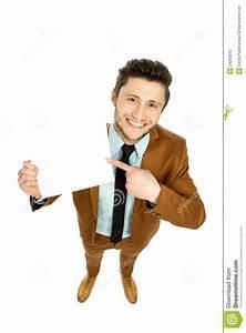 Man Holding Blank Poster Stock Photo - Image: 24293010