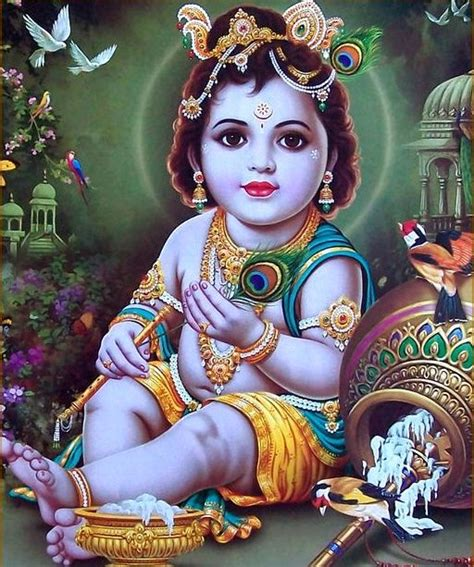 baby krishna hd wallpaper gallery